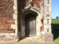 Entrance into the Tudor house at the site of Warden Abbey.